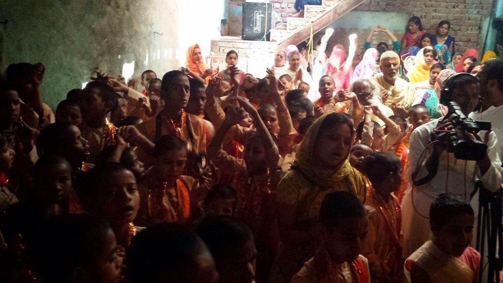 Ram Navami Was Celebrated In Maan Pur Village