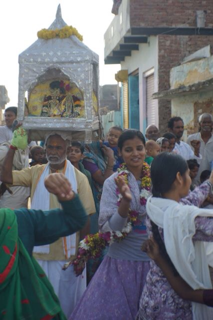 Radharani Braja Yatra Barṣāṇā Braja Yatra 2