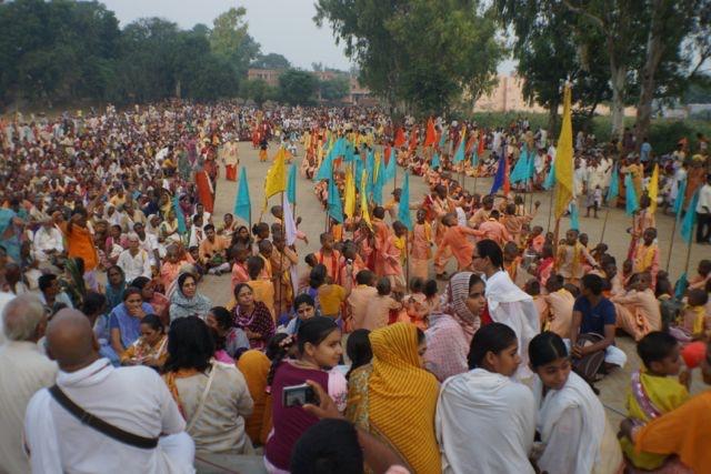 Radha Rani Braj Yatra And Svachcha Bharat Abhiyan