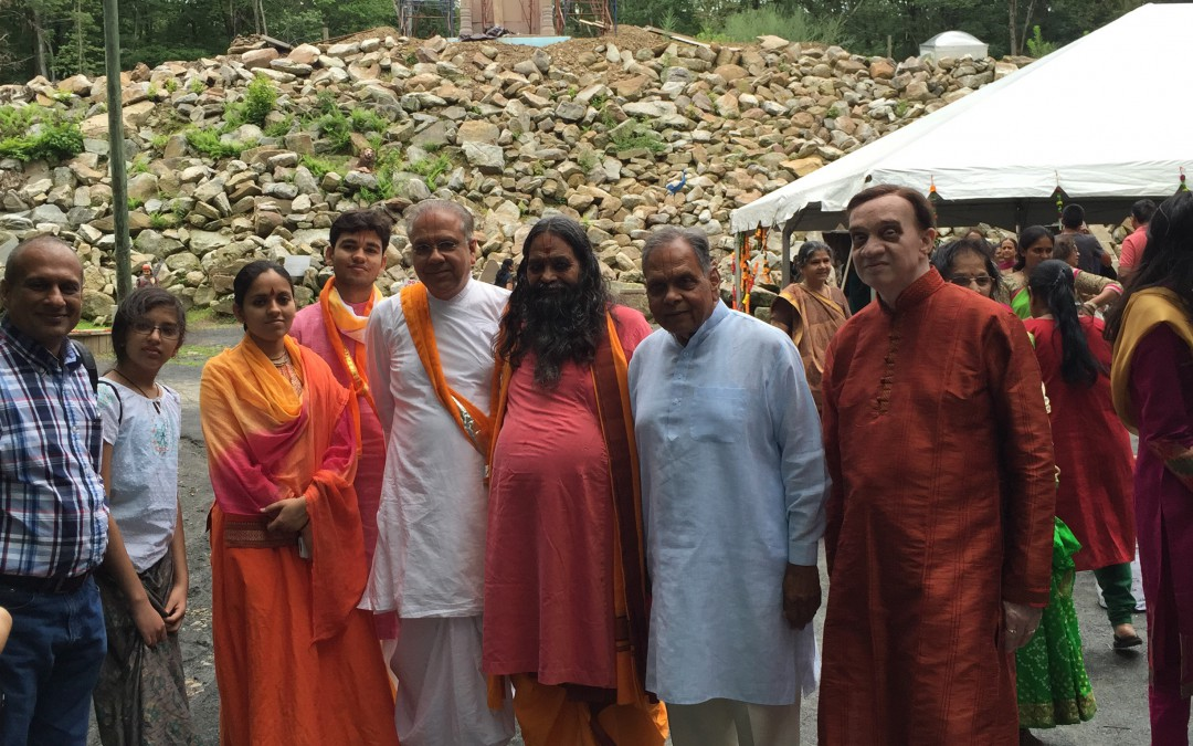 Murlika Ji's Visit to Vraj Trmple in PA USA